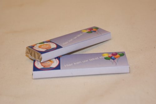 chocoladereep groot 75 gram Toptraktaties